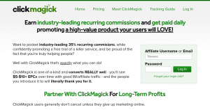 Affiliate Program That Pays Daily - Clickmagick Affiliate Review