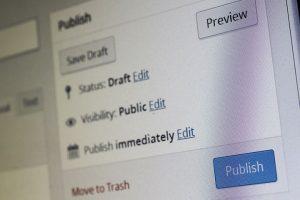 Publish your music blog posts