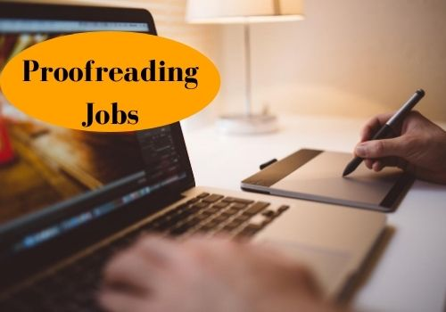Proofreading jobs for copywriters